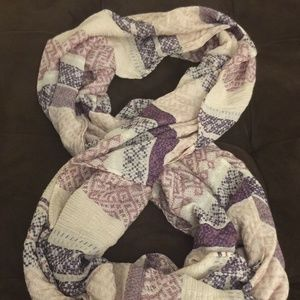 Simply Noelle Shades Of Purple VISCOSE Blend Scarf